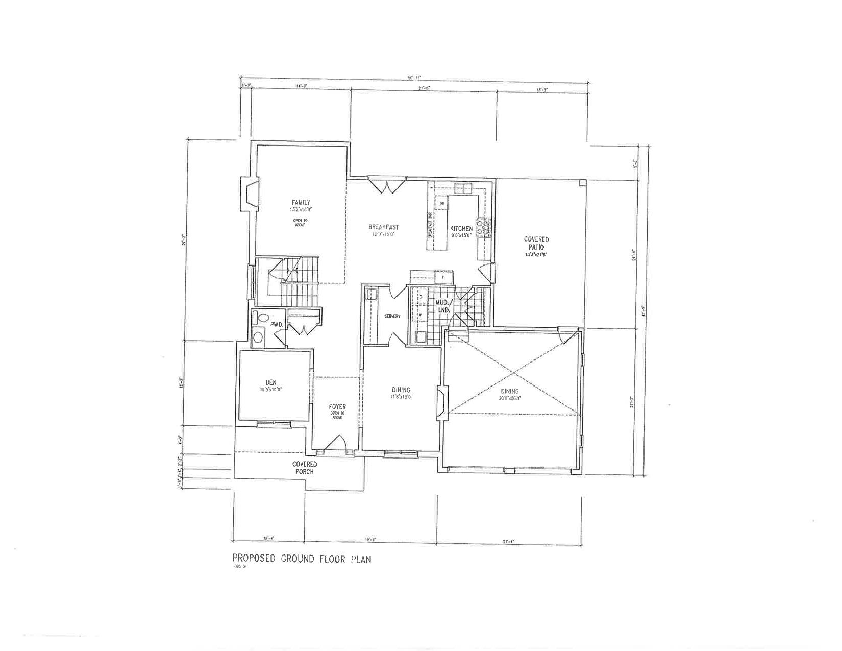 3 Proposed Ground Floor Plan