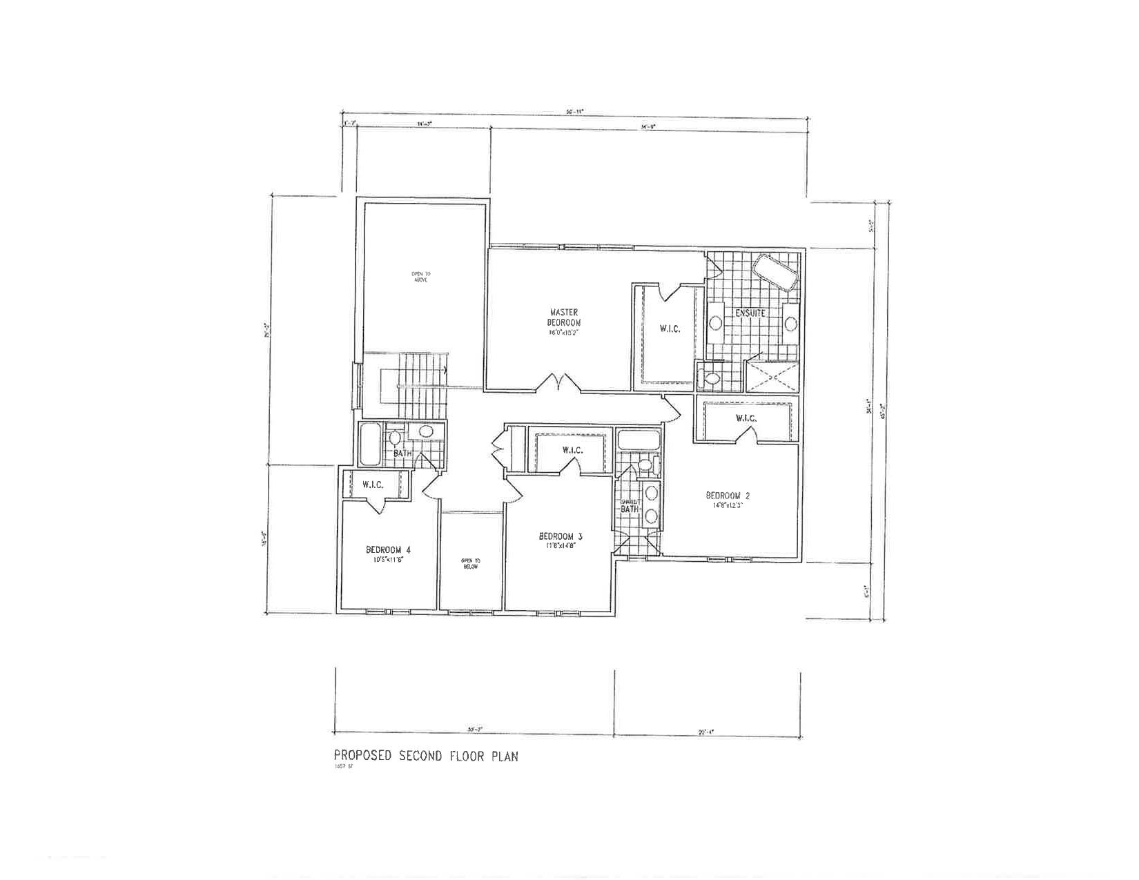 4 Proposed Second Floor Plan