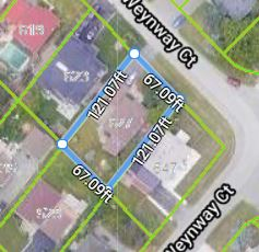 5 Lot Arial View